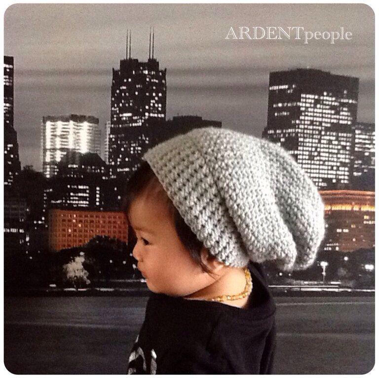 285372cf1c8 Light Grey Slouch Hat