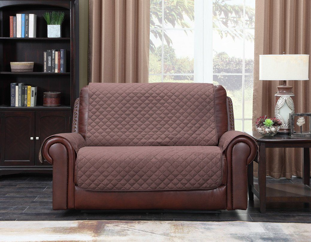 Super Home Queen Premium Waterproof Couch Slipcover For Leather Bralicious Painted Fabric Chair Ideas Braliciousco