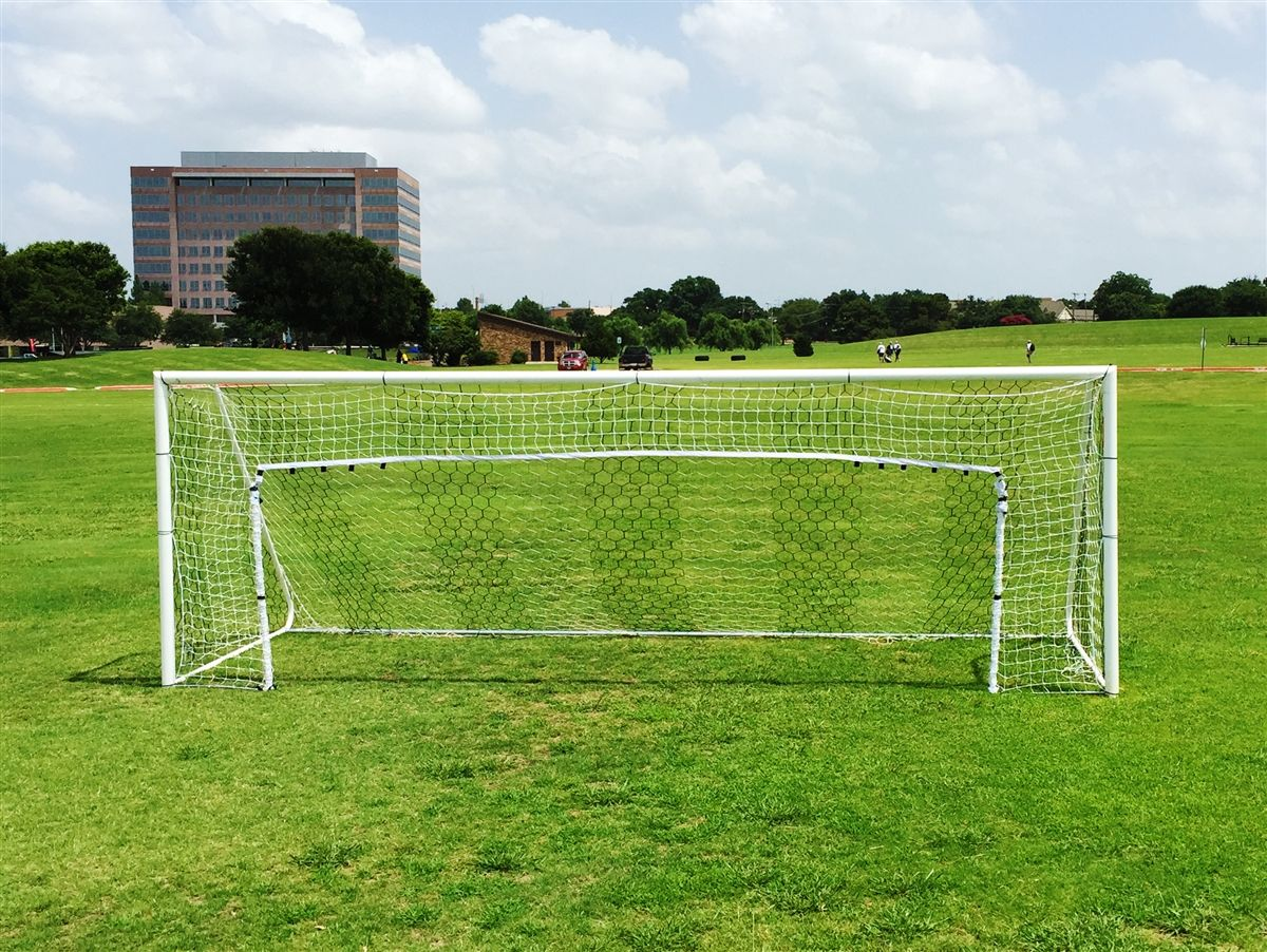 cc26e78b7 Easily convert any 8'x24' Soccer Goal to a 6'x12' Goal or 6'x18' Goal with  this #GoalReductionNet. Easily hooks around any goal post and includes (2)  slide ...