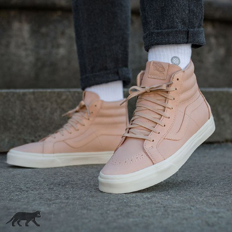 75ab08ac38 Vans SK8-Hi Reissue Zip  Veggie Tan Leather