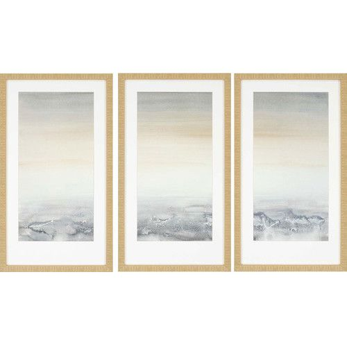 Found it at AllModern - Sable Island 3 Piece Framed Painting Print Set