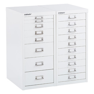 Bisley White 8 10 Drawer Collection Cabinets Drawers Filing Cabinet Container Store