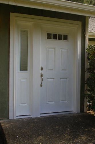 Amazing Similar To The Front Door And Sidelight We Chose For The New House, Except  Ours