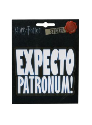 Harry Potter Expecto Patronum Sticker
