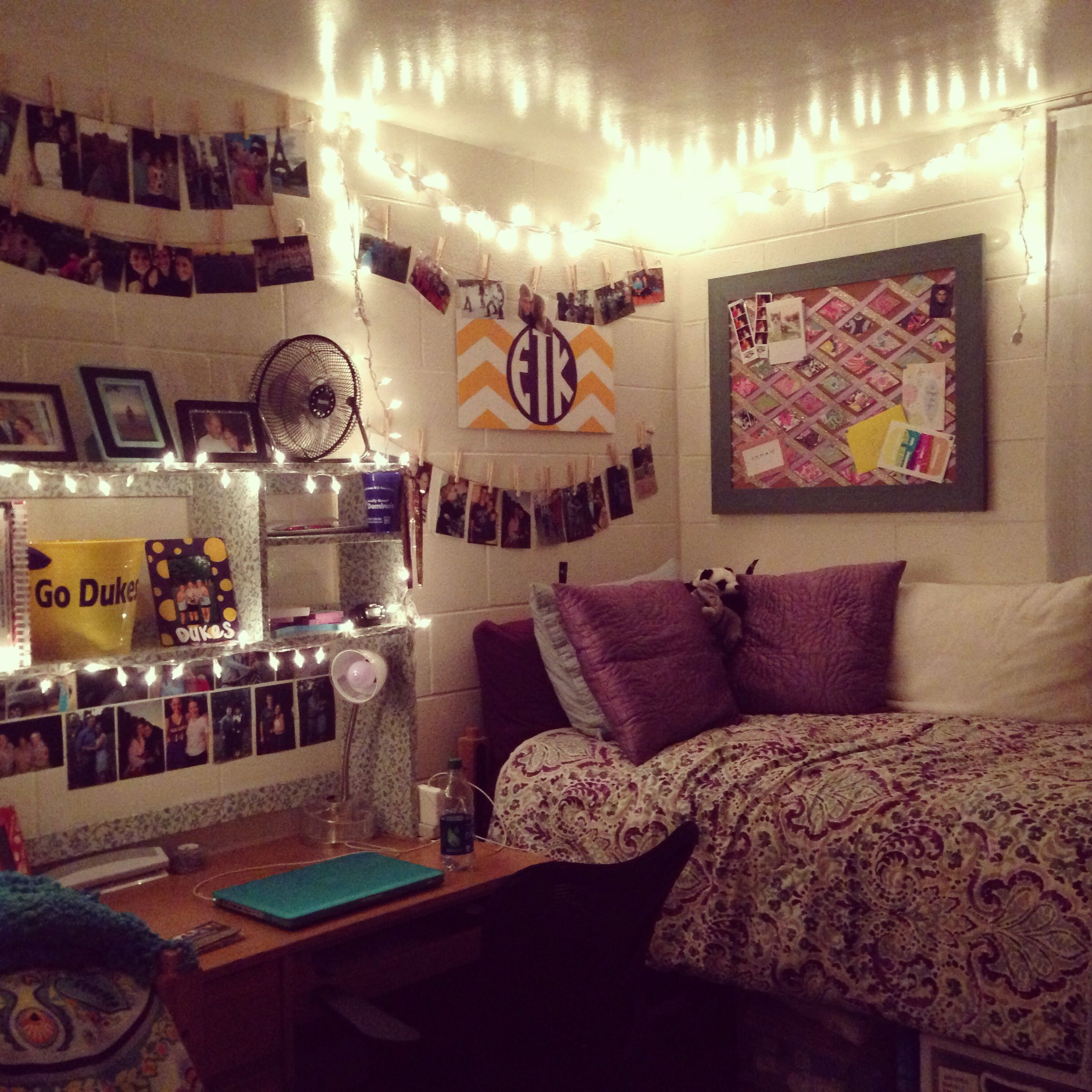 I am a huge fan of photos and memories, so anything that  ~ 212851_Dorm Room Ideas Music