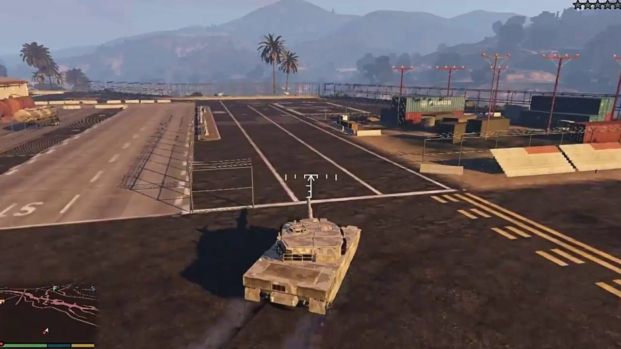 GTA 5 Biggest Military Base Attack With Tank How to get