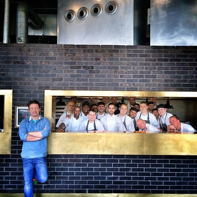 "@Jamie Wise Oliver's photo: ""Had a great menu session at @barbecoa today so blessed such amazing team of strong cooks and a handful of ex fifteen students doing amazing things very proud !! Some amazing new dishes coming up celebrating fire , smoke and the best meat in UK good times !! Love  #jamieoliver"""