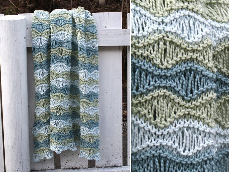 Baby Blanket Knit.