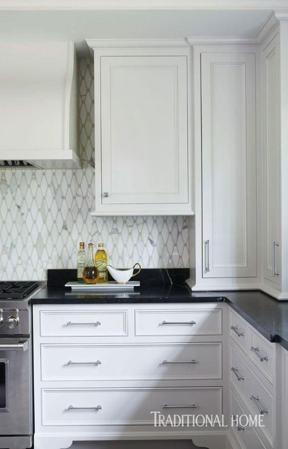 Sopastone Countertops Glow Thanks To A Routine Wax Sealer.   Photo: Jean  Allsopp / Design: Dana Wolter