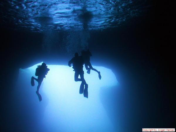 Cathedral cave malta gozo aqua sports dive centre uw for Gozo dive centres