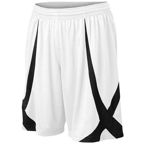 TOPTIE Men Basketball Shorts, Viscose Knit, Adult Size ($10