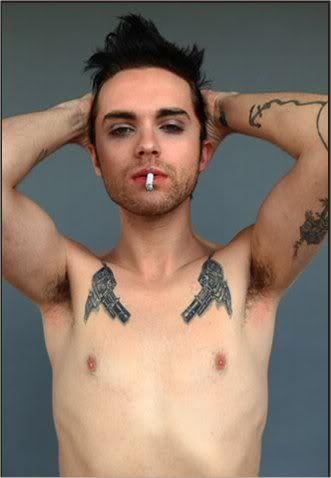 shirtless Thomas dekker