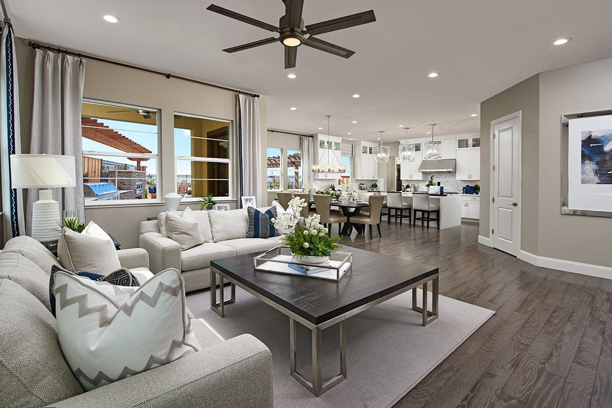 Pascal Model Home Great Room In 2020 Model Homes Great Rooms Home