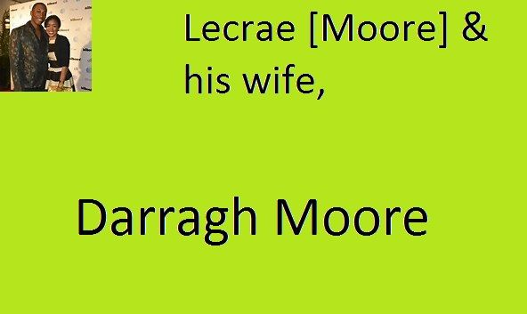 Christian rapper, Lecrae Moore, w/ his wife Darragh Moore
