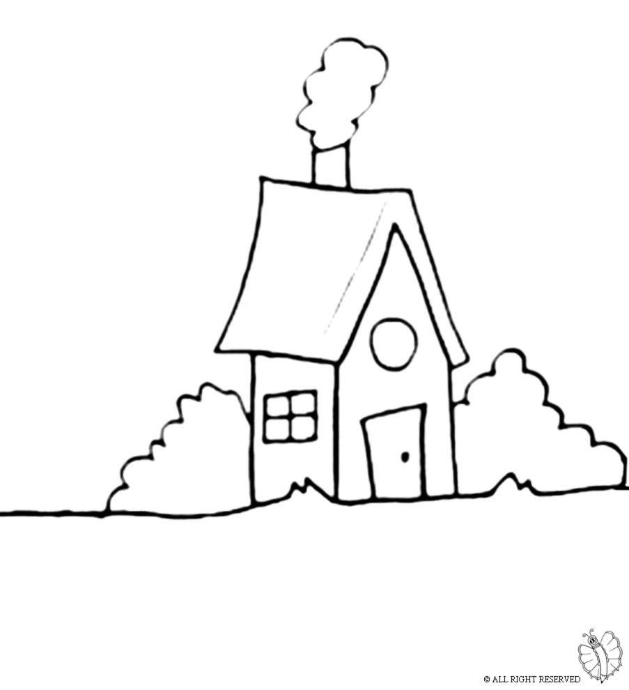 Casa Disegno Da Colorare Migliori Pagine Da Colorare Gratis Per