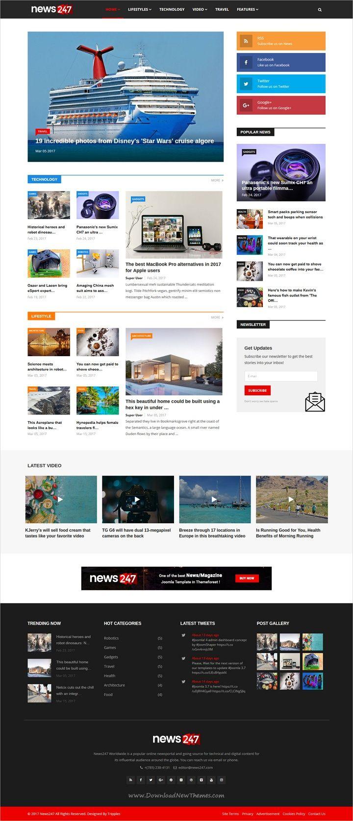 Pin by Rakesh Tamang on website design Joomla templates