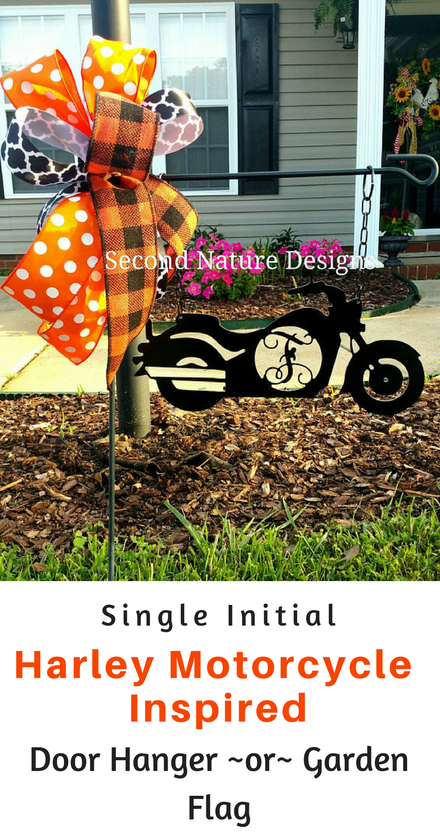 Very cool! A great gift for any Harley enthusiast! Single Initial ...