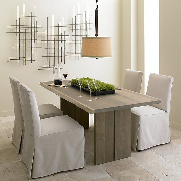 Reflection Black Metal Centerpiece Dining Table Dining Table Chairs Furniture