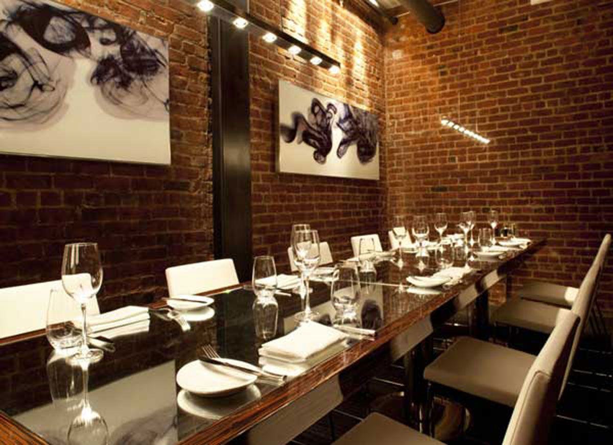 Restaurant Dining Interior Idea Of Modern Lounge Decor Ideas   Hoahp.com