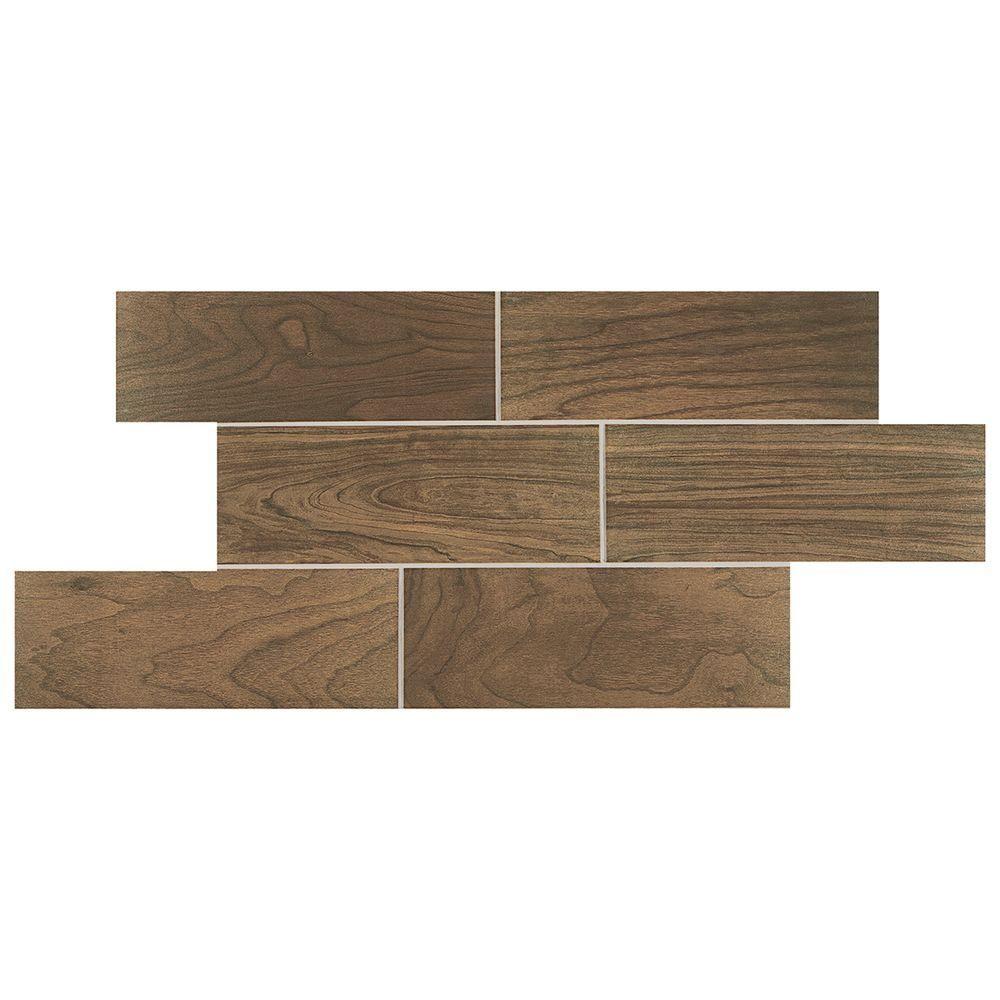 Daltile parkwood brown 7 in x 20 in ceramic floor and wall tile daltile parkwood brown 7 in x 20 in ceramic floor and wall tile dailygadgetfo Image collections