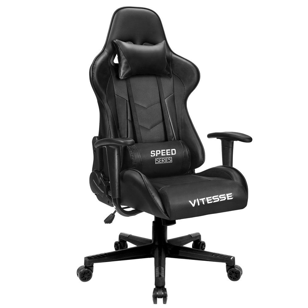 Vitesse computer gaming chair racing style highback pc chair
