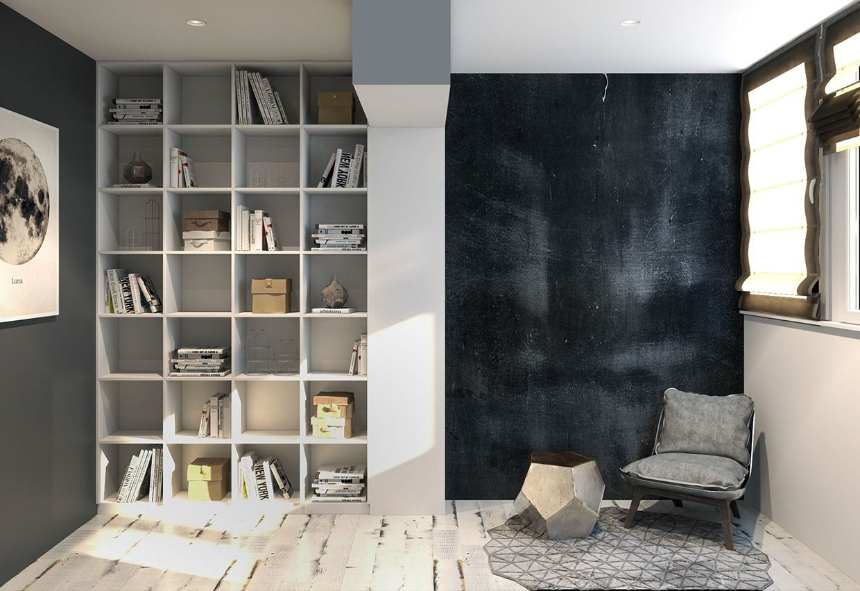 renovierte wohnung kenzo olga akulova, reading-nook-design (1240×851)   holy home // general, Design ideen