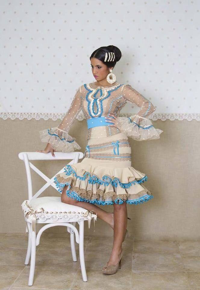 c467d12ba El abanico de Vélez | OLE OLE | Vestidos de flamenca, Moda flamenca ...