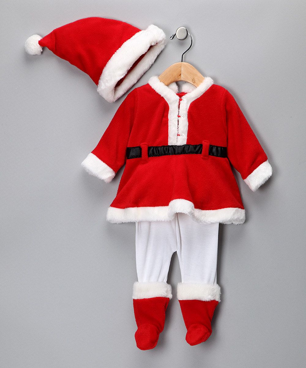 Baby Grand Mrs. Claus Santa Claus Costume   zulily   Hacer