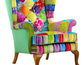 Penshurst Patchwork Chair Designers Guild Fabric