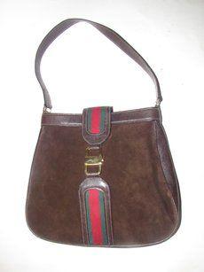 Gucci True 1960 s Mod Mint Vintage Early  jackie  Suede Leather Rare Vintage  Style Shoulder Bag 8bedd5eeda2c2
