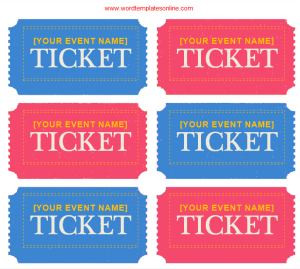 avery ticket label template certificate templates pinterest