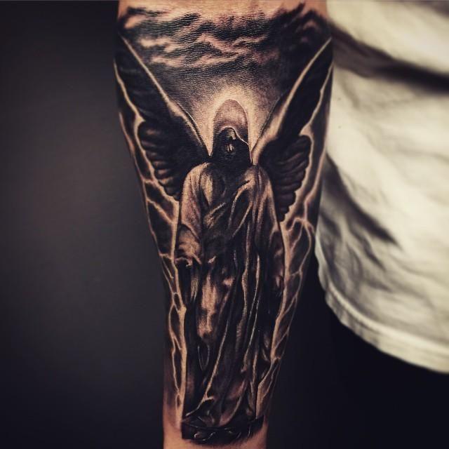 60 Angel Tattoos Ideias De Tatuagens Tatuagem De Anjo