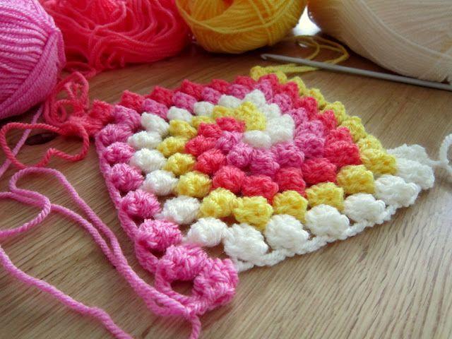 granny bobble spiral tutorial | Crocheting ideas | Pinterest ...