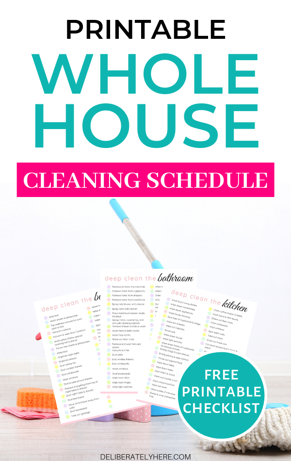 How To Deep Clean Your House Fast With The Best Expert Cleaning Tips Clean House Schedule Cleaning Schedule House Cleaning Checklist