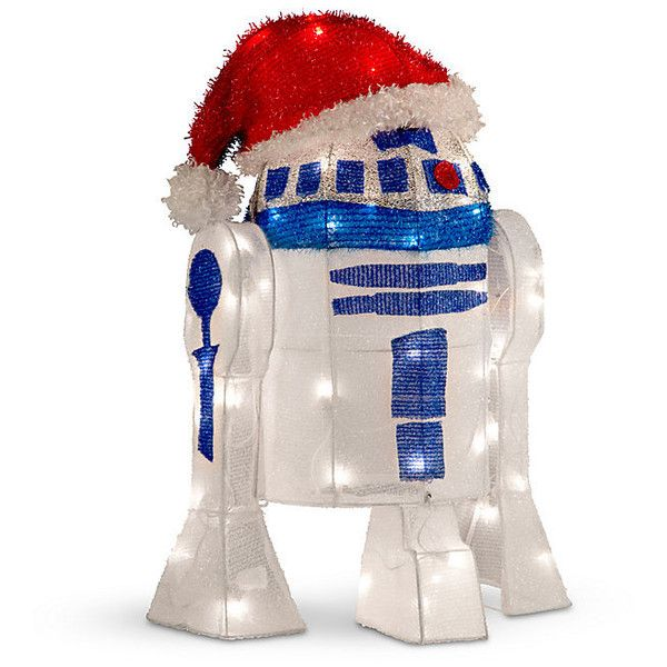 Improvements Star Wars Tinsel R2D2 with Santa Hat (\u20ac75) ❤ liked on