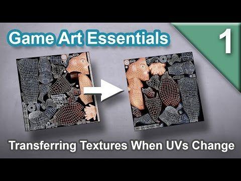Essentials, EP 1: Transferring Textures When UVs Change