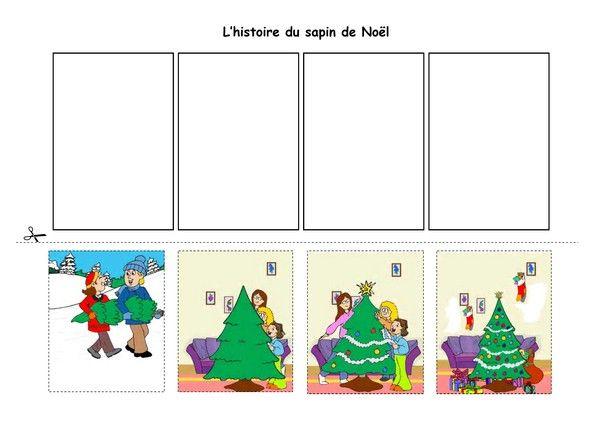 L'histoire du sapin de Noël | Kerst, Kerst knutselen, Kerstmis