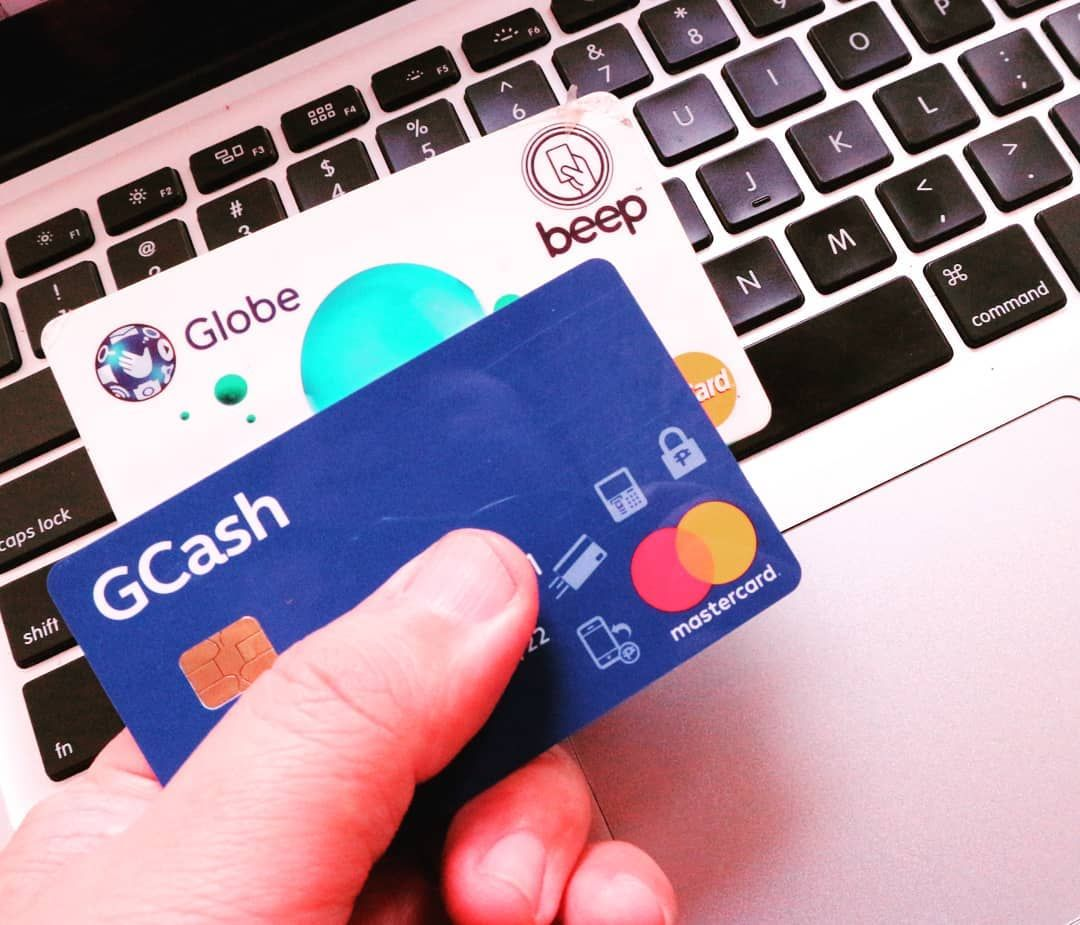 Globe replaced my old GCash card with the one with an EMV