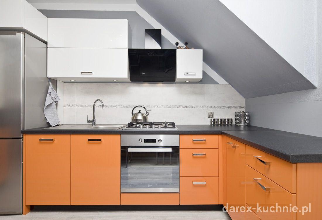 Kuchnia Na Poddaszu Darex Szczecin Kitchen Design Open Plan Kitchen Kitchen