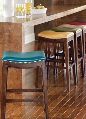 Julien Bar Amp Counter Stool Leather Bar Stools Classic