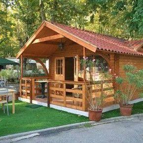 Resultado de imagen para sitio estilo rustico casa tres - Casas de madera pequenas ...