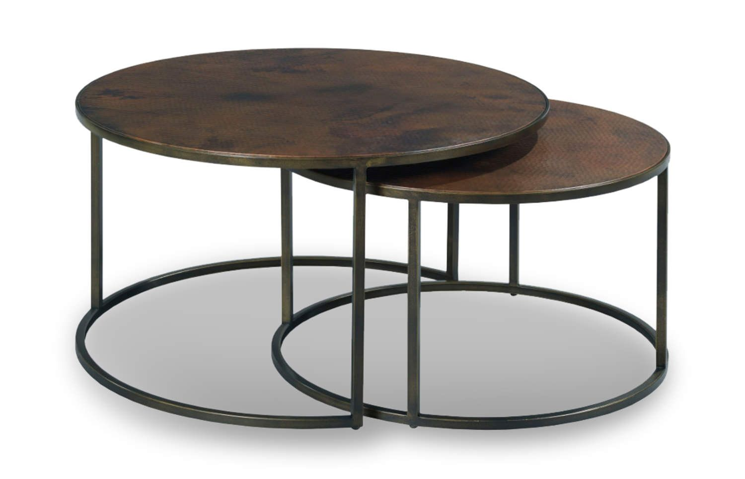 Sanford Bunching Coffee Tables Round Nesting