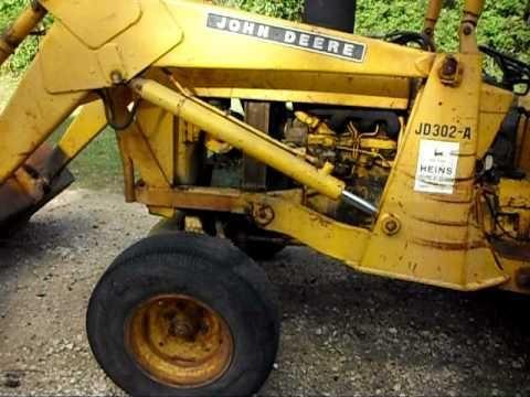 john deere 302a backhoe loader service technical manual tm1090 rh pinterest com John Deere 302A Backhoe John Deere 302A Backhoe