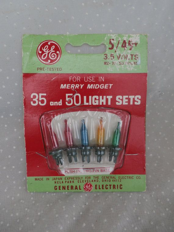 Ge merry midget lights