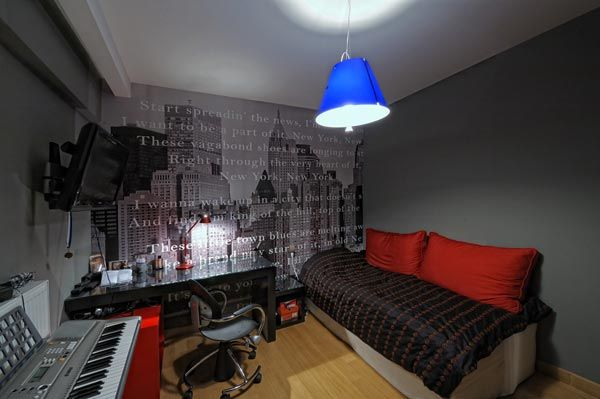 Modern Apartment Recording Studio