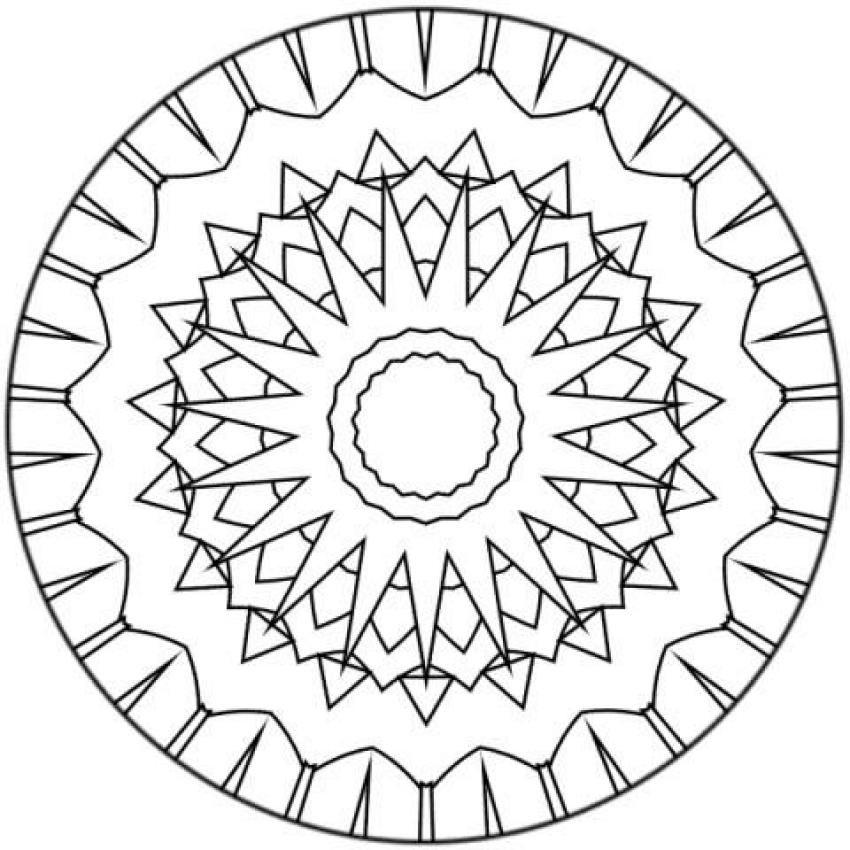 Dibujo Para Colorear Mandala Azteca Car Pictures | MANDALAS ...