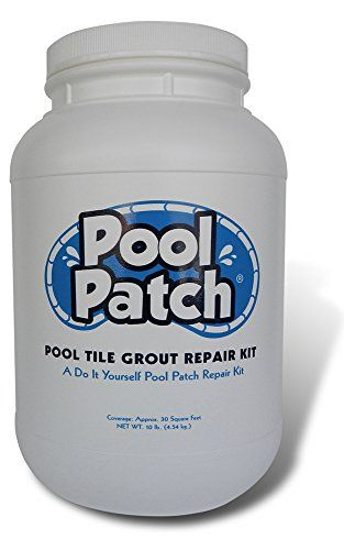 Pool Patch White Pool Tile Grout Repair Kit 10 Pound White Pool Plaster Plaster Repair Pool Tile