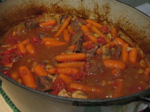 Easy Beef Ragout