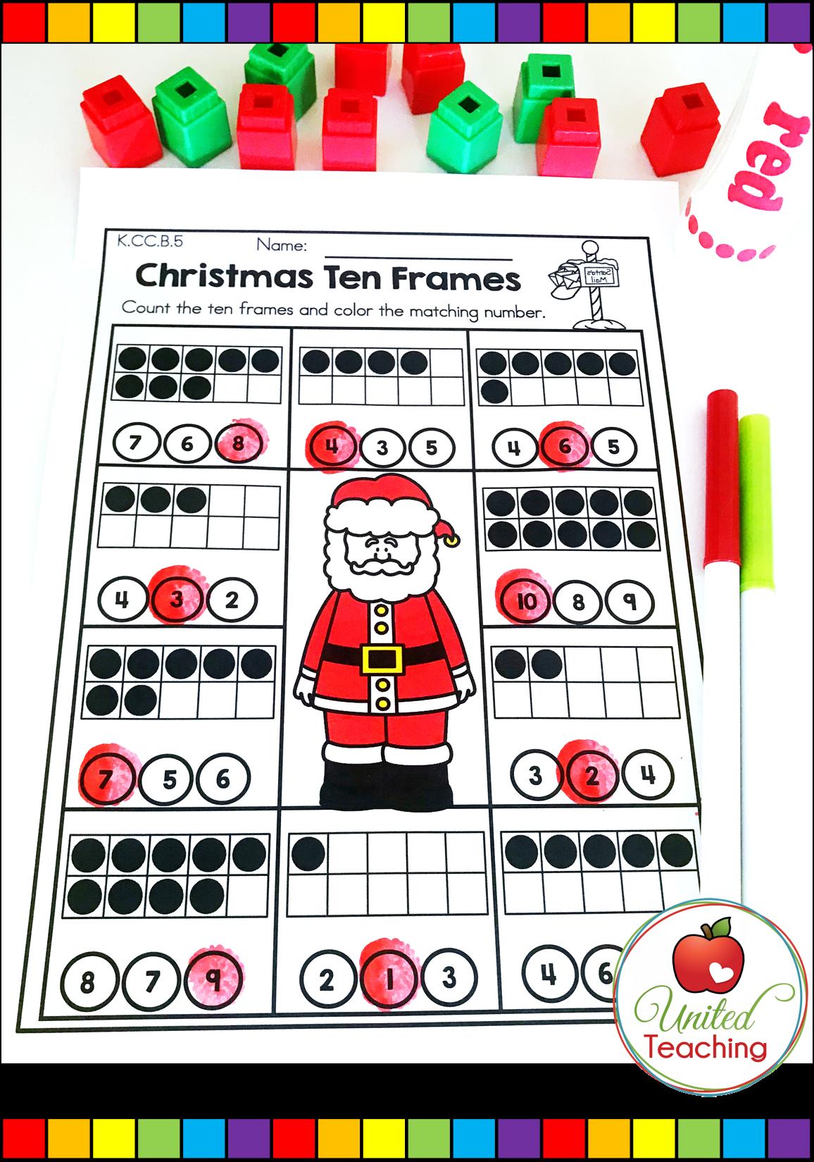 Christmas Math And Literacy Kindergarten No Prep Activities Christmas Math Activities Christmas Math Activities Kindergarten Kindergarten Math Activities [ 1649 x 1156 Pixel ]