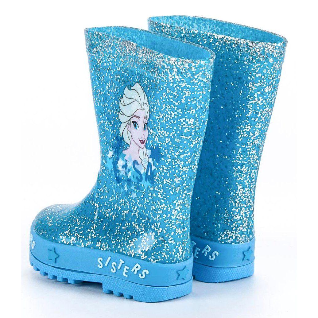 Kalosze Dla Dzieci Butymodne Niebieskie Kalosze Kraina Lodu Butymodne Boots Rubber Rain Boots Rain Boots
